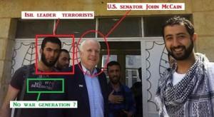 Abu Mosa and John McCain 2